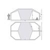 Nordisk Vanaheim 40 m² Tent Technical Cotton natural